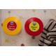etiquette autocollant design simple ronde moyen format patere parent