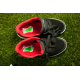 etiquette autocollant design specifique pied moyen format chaussure basket skate
