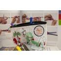 etiquette-autocollant-design-retro-ronde-grand-format-trousse-crayons