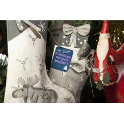 16 étiquettes cadeaux de noël