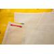 etiquette thermocollant design simple rectangle moyen format maison housse de couette