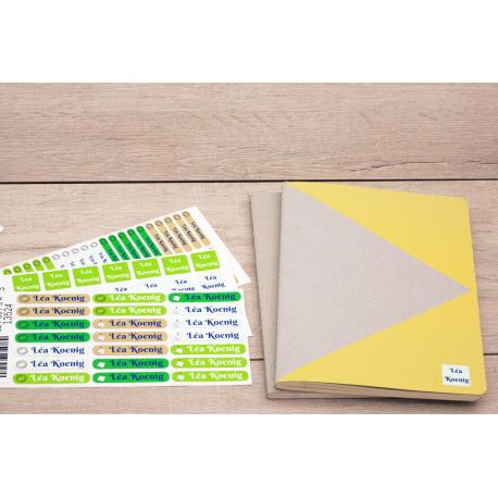 Pack bureau etiquette autocollante affaires bureaux