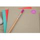 Pack autocollants etiquette cahiers crayons