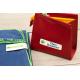 Pack internat etiquette autocollante thermocollante pour marquer les affaires de toilette