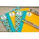 Pack decouverte etiquette autocollante pour marquer les cahiers livres et carnets